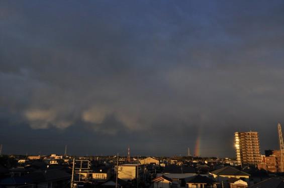 2015年4月15日 埼玉県上尾市から見えた雨後の虹DSC_0004