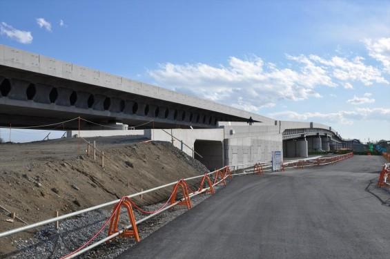 2015年3月 圏央道進捗状況 菖蒲PA パーキングエリアDSC_0072