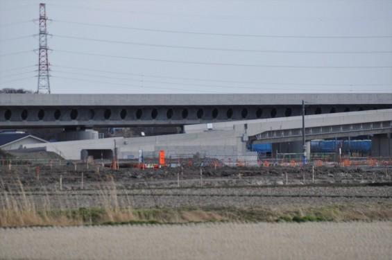 2015年3月 圏央道進捗状況 菖蒲PA パーキングエリアDSC_0046