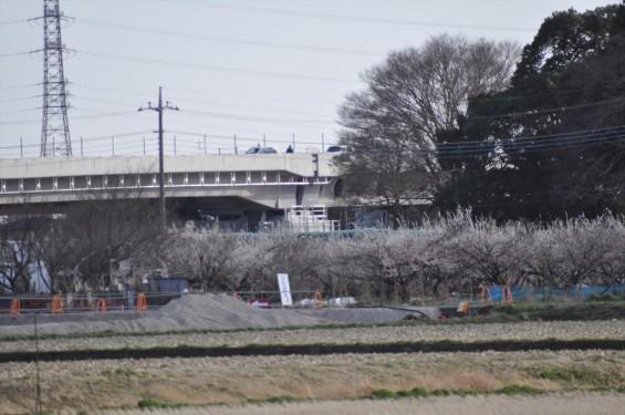 2015年3月 圏央道進捗状況 菖蒲PA パーキングエリアDSC_0049