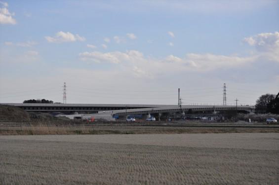 2015年3月 圏央道進捗状況 菖蒲PA パーキングエリアDSC_0041