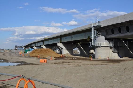 2015年3月 圏央道進捗状況 菖蒲PA パーキングエリアDSC_0071