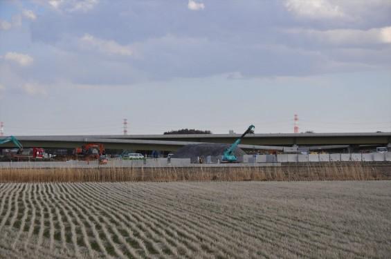2015年3月 圏央道進捗状況 菖蒲PA パーキングエリアDSC_0040