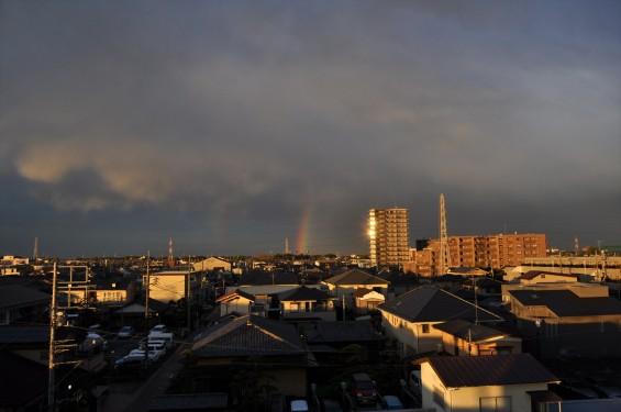 2015年4月15日 埼玉県上尾市から見えた雨後の虹DSC_0001