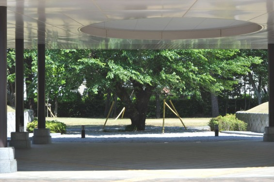 2015年5月 小平霊園の合葬式墓地DSC_0536