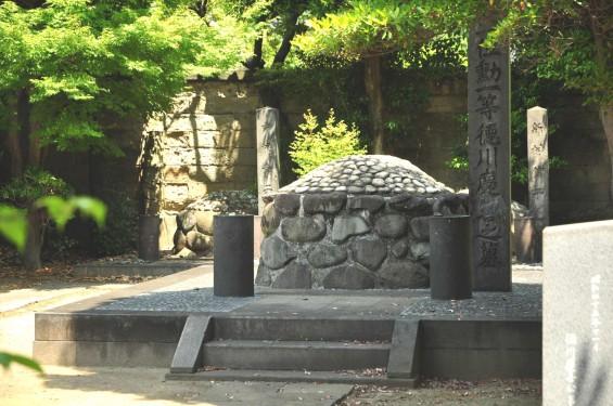 2015年5月27日 都心霊園バスツアー 谷中霊園 全国石製品協同組合 全石協DSC_0733-徳川慶喜墓所