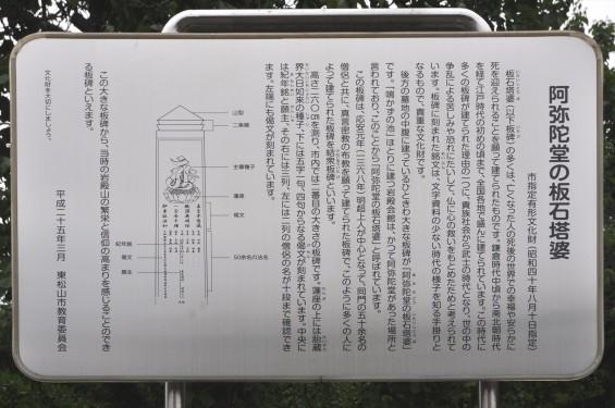 20150608 東松山市岩殿 阿弥陀堂の板石塔婆DSC_1448-