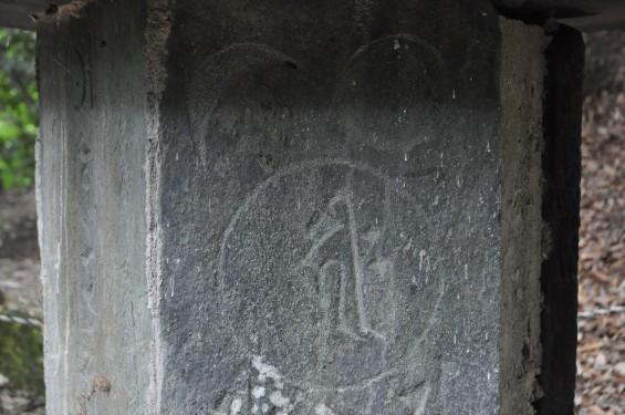 埼玉県東松山市 岩殿観音 正法寺の六面幢 ろくめんどう 六面塔 六面石幢DSC_1393