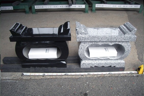 総合受付にて取り扱っている墓石関連商品1香炉