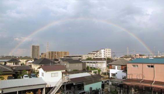 20150815 虹が出ていました(埼玉県上尾市 大塚本社から)名称未設定 1