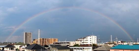 20150815 虹が出ていました(埼玉県上尾市 大塚本社から)DSCN7131+