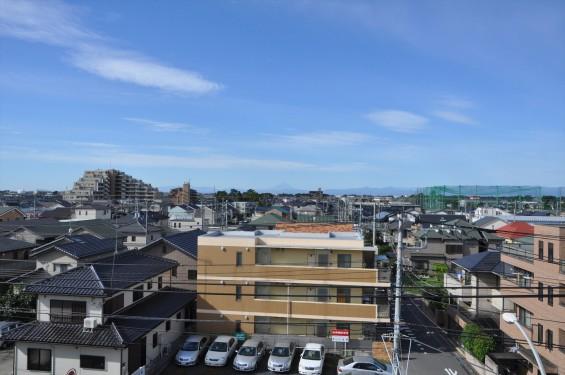 2015年9月30日 埼玉県上尾市から見える富士山 雪がない 夏山DSC_3938