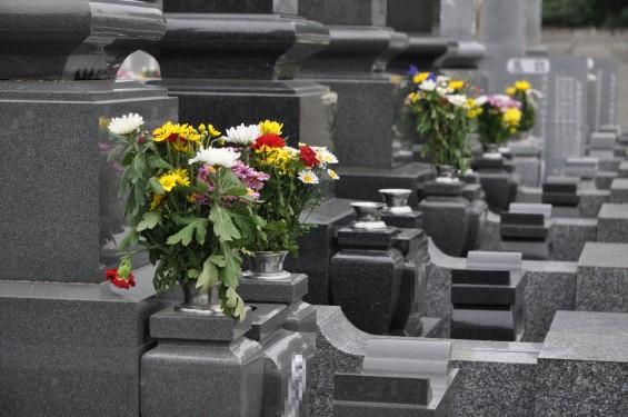 お墓参りの供花 仏花 彼岸 東明寺DSC_3792