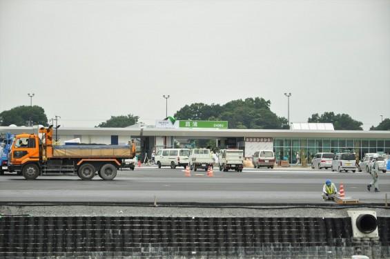 2015年10月 圏央道進捗状況 菖蒲paパーキングエリア 工事中の様子DSC_3856