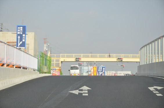 2015年10月 圏央道進捗状況 二ツ家アンダーパス開通(踏切だった場所)-DSC_4096