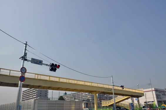 2015年10月 圏央道進捗状況 二ツ家アンダーパス開通(踏切だった場所)-DSC_4048