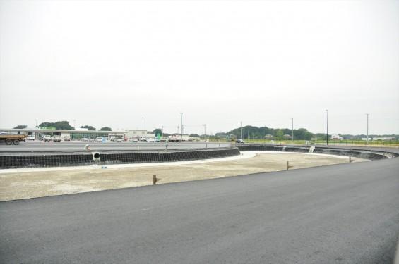 2015年10月 圏央道進捗状況 菖蒲paパーキングエリア 工事中の様子DSC_3858