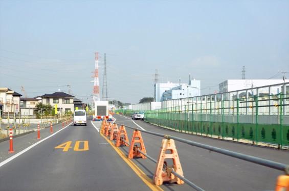 2015年10月 圏央道進捗状況 二ツ家アンダーパス開通(踏切だった場所)-DSC_4098