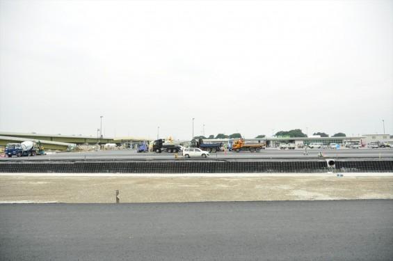 2015年10月 圏央道進捗状況 菖蒲paパーキングエリア 工事中の様子DSC_3855