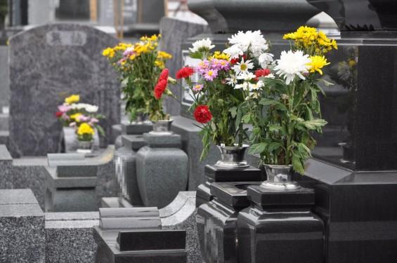 お墓参りの供花 仏花 彼岸 東明寺DSC_3791