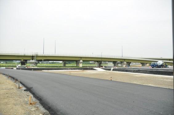 2015年10月 圏央道進捗状況 菖蒲paパーキングエリア 工事中の様子DSC_3859