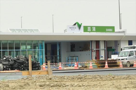 2015年10月 圏央道進捗状況 菖蒲paパーキングエリア 工事中の様子DSC_3865-