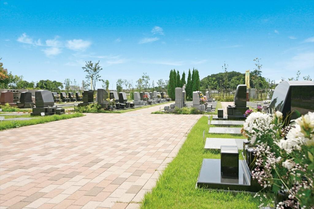 2015年11月 さいたま市見沼区の「大宮霊園」に新区画が登場5