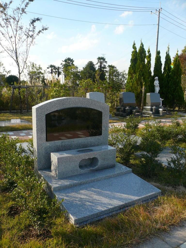 2015年11月 さいたま市見沼区の「大宮霊園」に新区画が登場3 ガーデン墓所1.20㎡(植栽付芝生墓所)