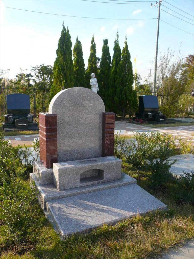 2015年11月 さいたま市見沼区の「大宮霊園」に新区画が登場4 ガーデン墓所1.20㎡(植栽付芝生墓所)