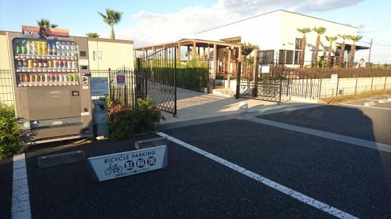 霊園の自転車置き場 お墓参り駐輪場 桶川霊園DSC_2342
