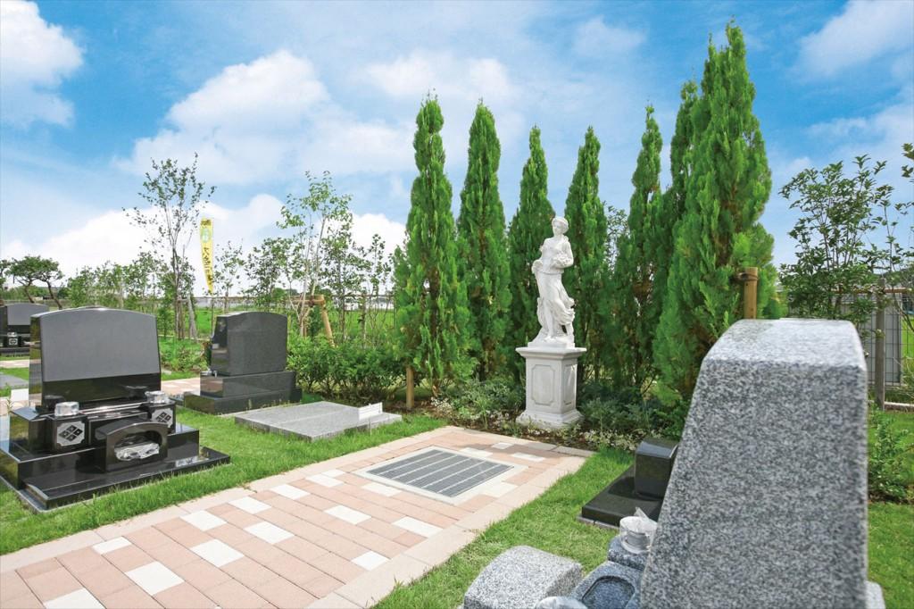 2015年11月 さいたま市見沼区の「大宮霊園」に新区画が登場6