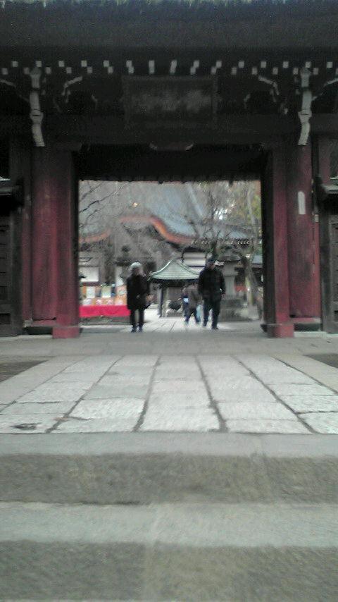 水木しげるさんゆかりの調布深大寺に行ってきました 20151224154437 深大寺山門