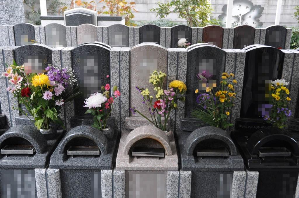 川口元郷聖地の永代供養墓 caro カーロ 完成 準備中DSC_5069