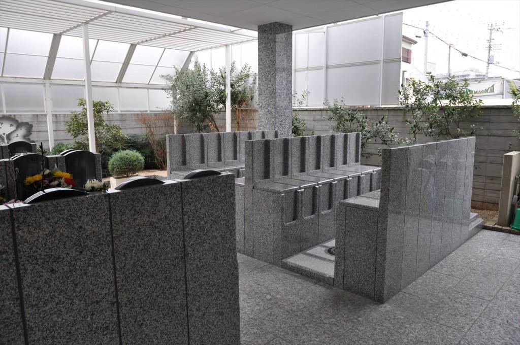 川口元郷聖地の永代供養墓 caro カーロ 完成 準備中DSC_5045