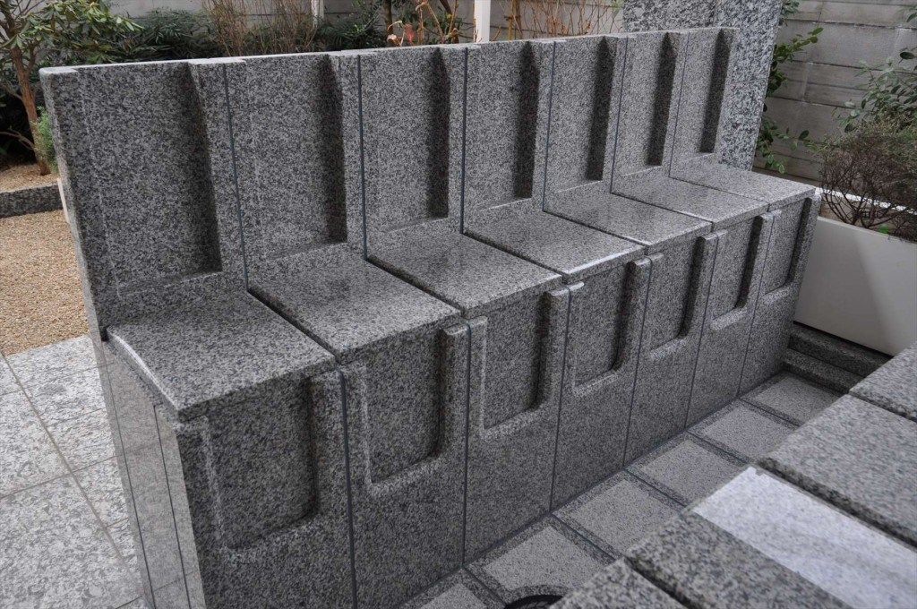 川口元郷聖地の永代供養墓 caro カーロ 完成 準備中DSC_5053