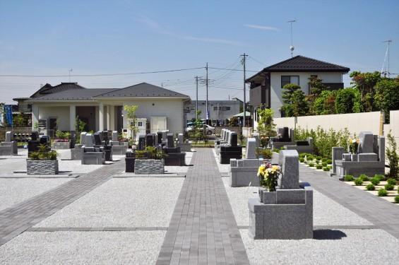 2016年5月 久喜清久霊園の樹木葬型永代供養墓DSC_7174