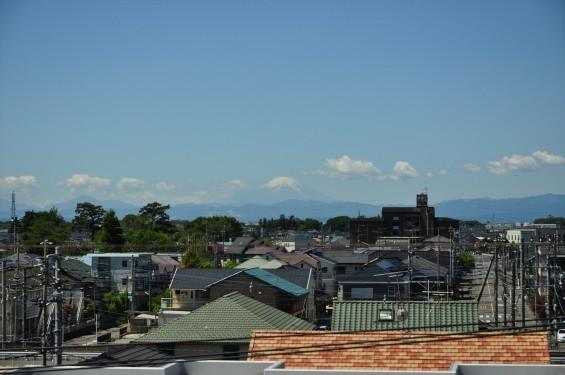 2016年5月12日木曜日、埼玉県上尾市から見える富士山が綺麗でしたDSC_7097