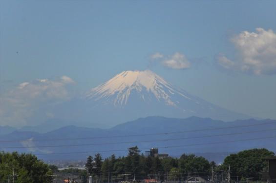 2016年5月12日木曜日、埼玉県上尾市から見える富士山が綺麗でしたDSC_7120-