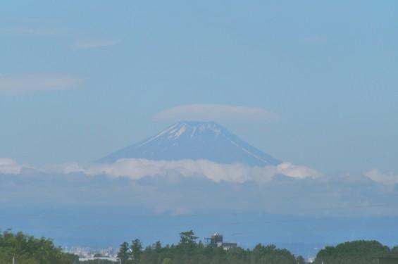 2016年6月17日 埼玉県上尾市から見える富士山 霊園 石材店 彫刻 墓石DSC_7691-