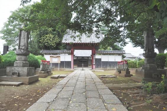 2016年7月27日 埼玉県上尾市の寺院 放光院の六地蔵006