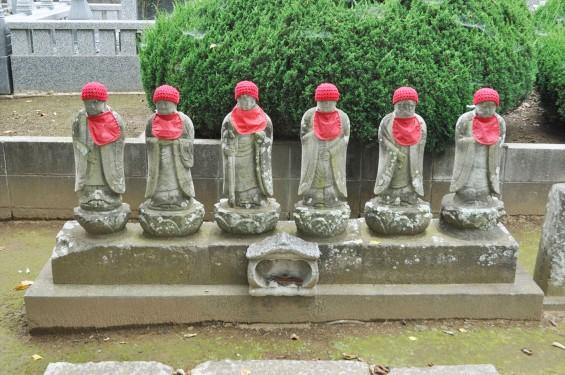 2016年7月27日 埼玉県上尾市の寺院 放光院の六地蔵002