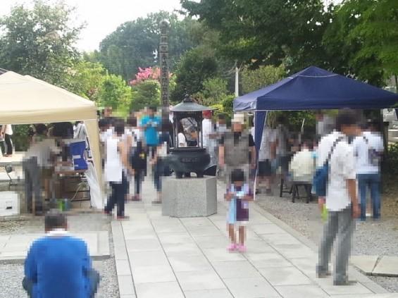 2016年8月埼玉県久喜市 香最寺 施食会160814_151733(H28.8施食会)