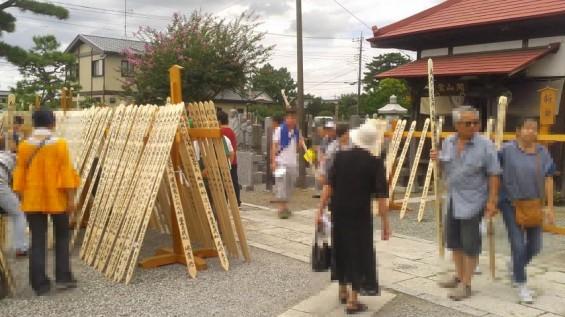 2016年8月 久喜清久霊園の経営母体、東明寺の施餓鬼供養2016081611150000
