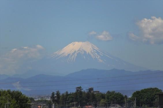 一年を通して富士山の変化を見る(埼玉県上尾市から)5月 005