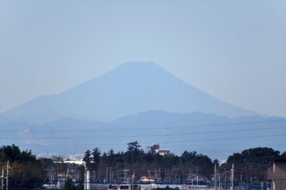 一年を通して富士山の変化を見る(埼玉県上尾市から)9月 009