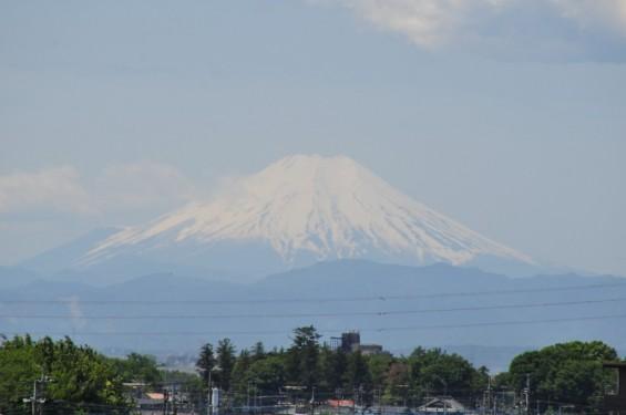 一年を通して富士山の変化を見る(埼玉県上尾市から)4月 004