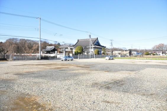 埼玉県伊奈町の寺院 松福寺 しょうふくじDSC_0109 駐車場