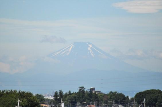 一年を通して富士山の変化を見る(埼玉県上尾市から)7月 007