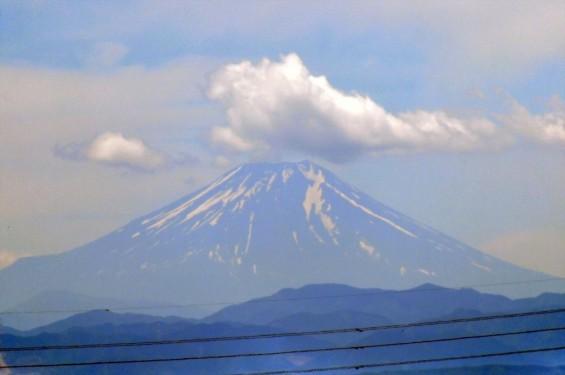 一年を通して富士山の変化を見る(埼玉県上尾市から)6月 006