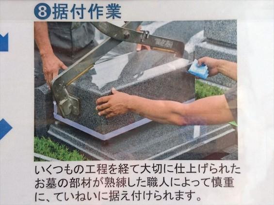 埼玉県上尾市 石材店の中庭 展示場 お墓ができるまで 看板8 17-03-30-14-52-31-320_photo